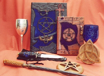 The Realm of White Magic presents its Ritual Tools Gallery - Click here to Enter