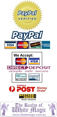 The Realm of White Magic Accepts These Forms of Payment!