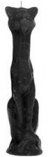 Egyptian Cat Ritual Candle - Black