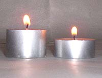 Tealight Candles - Large and Small - New Range