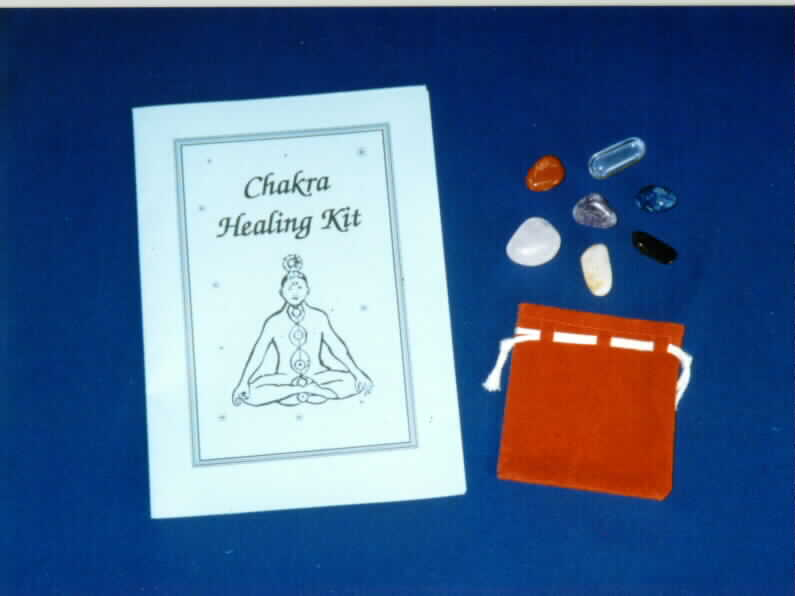 Chakra Healing Kit - Restore your well-being, natural balance and alleviate ailments