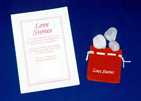 Love Stones Kit - Experience expressions of love using crystals