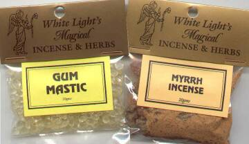 Gums and Resins Incense begins with an auromatic substance from
