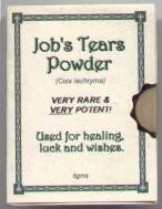 Jobs Tears Powder - Click for larger image