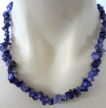 Amethyst Crystal Chip Necklace