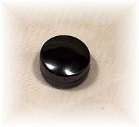 Click For Detail View - Healing Magnetic Hematite Ear Magnets Studs - One Size Fits All - TOP VIEW
