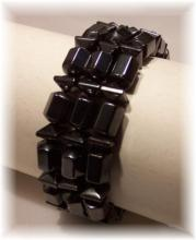Click For Detail View - Magnetic Hematite Bracelet-Mix n Match Example - One Size Fits All