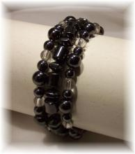 Click For Detail View - Magnetic Hematite Bracelet-Mix n Match - One Size Fits All