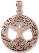 Celtic Tree of Life Pendant - Solid Bronze - Click for detail VIEW