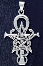 Sterling Silver Wizardry Symbol - Click for Detail VIEW