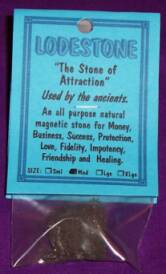 Lodestone Crystals - the stone of attraction