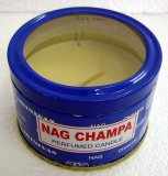 Nag Champa Perfumed Travel Candle Tin - Perfect For Travellers - No Mess!