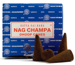Nag Champa Export Quality Incense Dhoop Cones