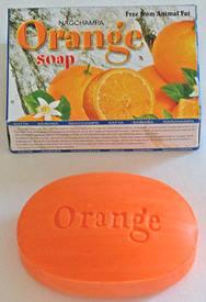 Orange Nag Champa Beauty Soap - 75gm pack