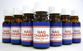 Nag Champa Concentrated Perfume Oil - 10mls - Click For Detail View