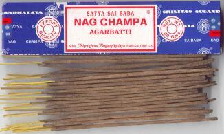 Nag Champa Export Quality Incense Sticks - 40gm pack