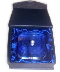 Crystal Pen Stand Gift Boxed - Click for Detail