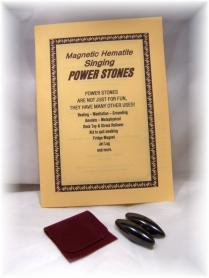 Magnetic Hematite Singing Power Stones Gift Pack - Click for detail