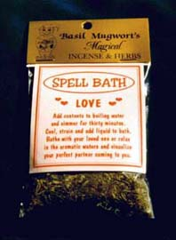 Spell baths for ritual luxurious herbal bath mixes made How to spell luxurious