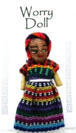Worry Dolls - A Large sized Worry Doll to take all your worries away!