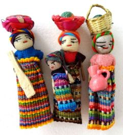 Worry Dolls - Extra Large MAGNETIC Worry Dolls to take all your worries away!