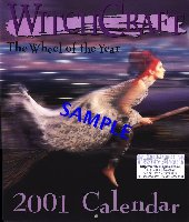 Witchcraft calendar img - Front Cover